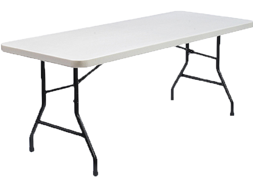 6 Feet White Table